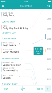 Streamline Calendar 1