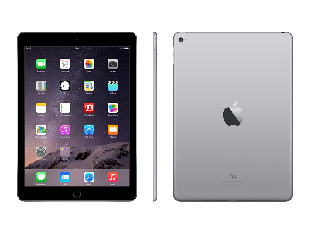iPad Air 2 Spacegrau