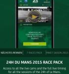 24 Stunden von Le Mans App 2