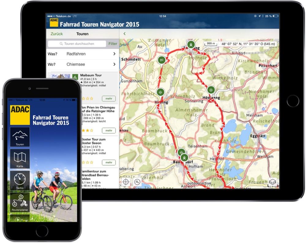 ADAC Fahrrad Touren Navigator 2015