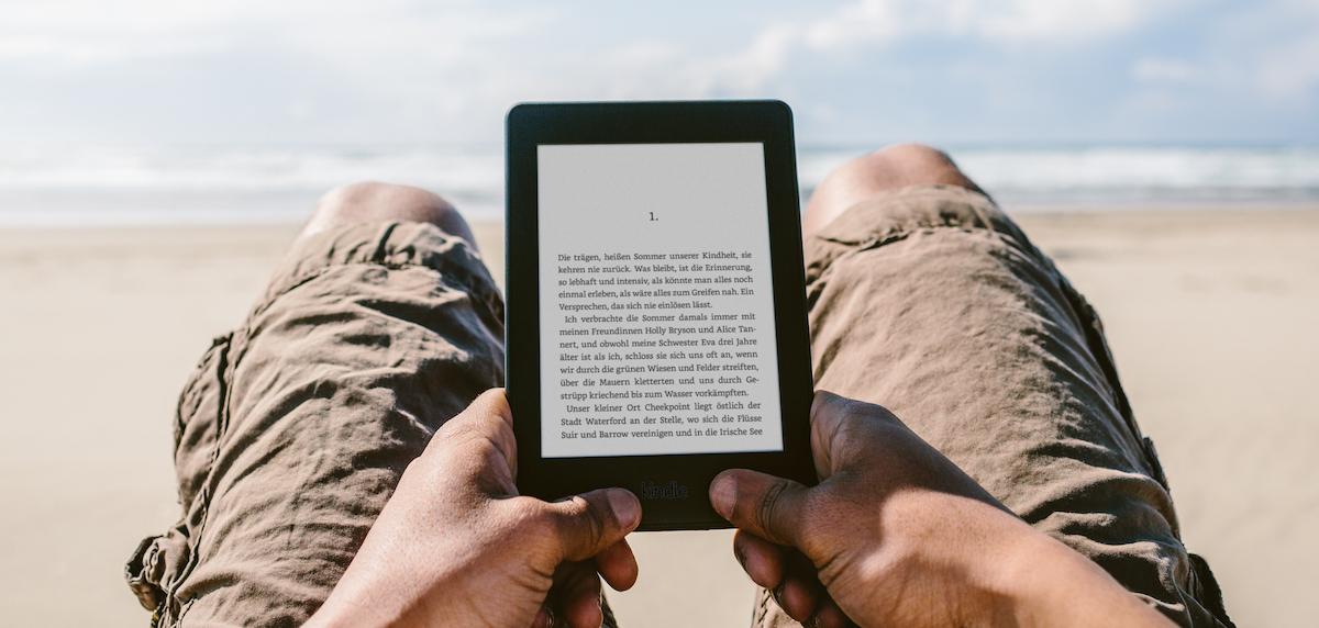 Kindle Paperwhite 2015 strand