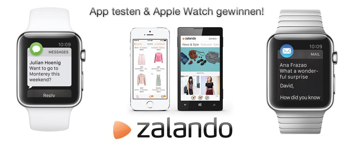 Zalando Gewinnspiel Apple Watch