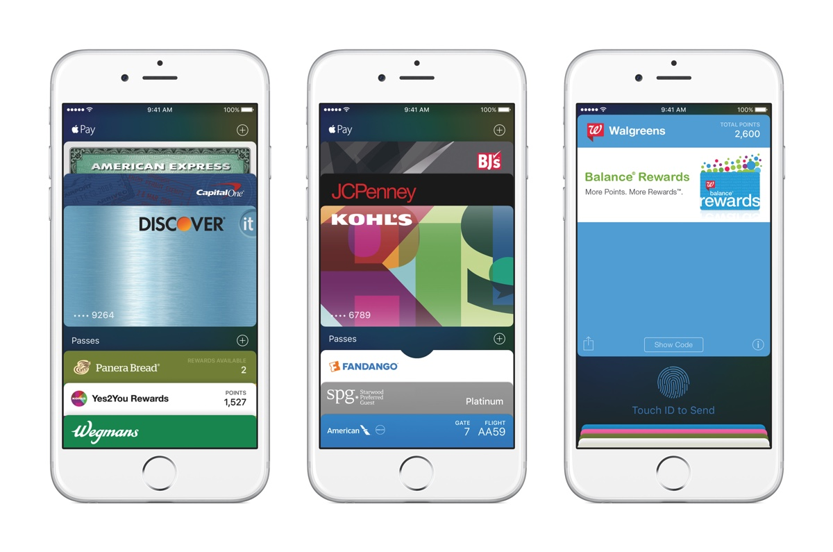iOS 9 Wallet
