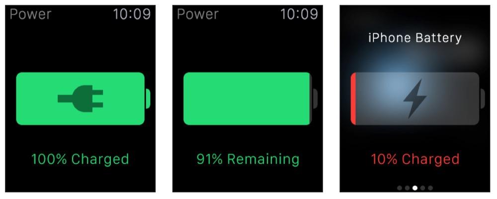 power apple watch