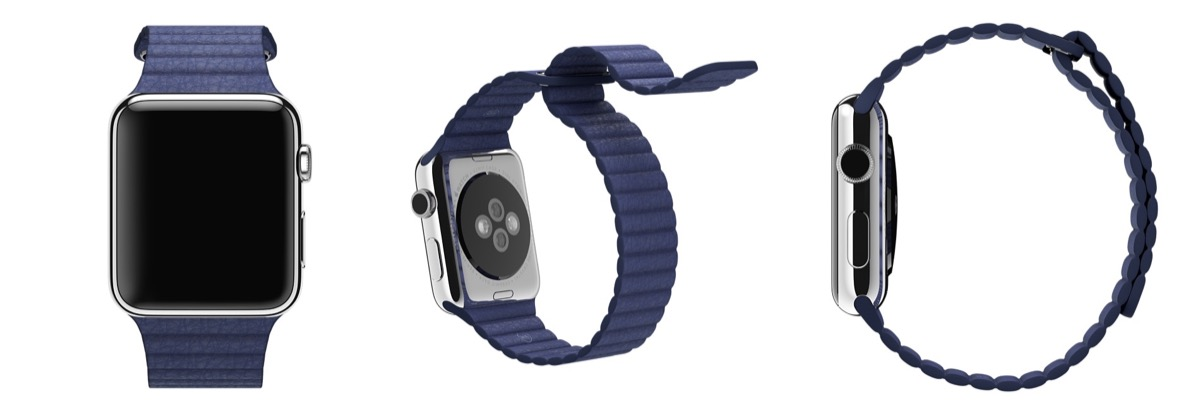 Apple Watch Loop Lederarmband