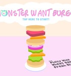 Monster Want Burger 1