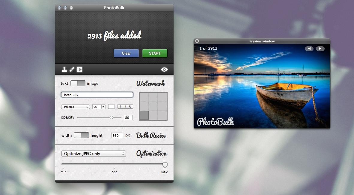 PhotoBulk Mac
