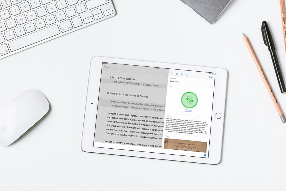 Typed iPad