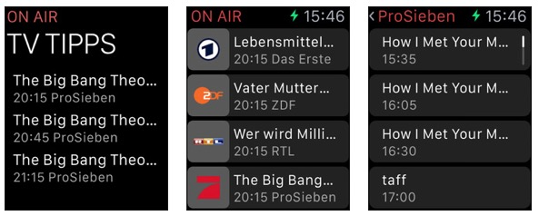 on air apple watch