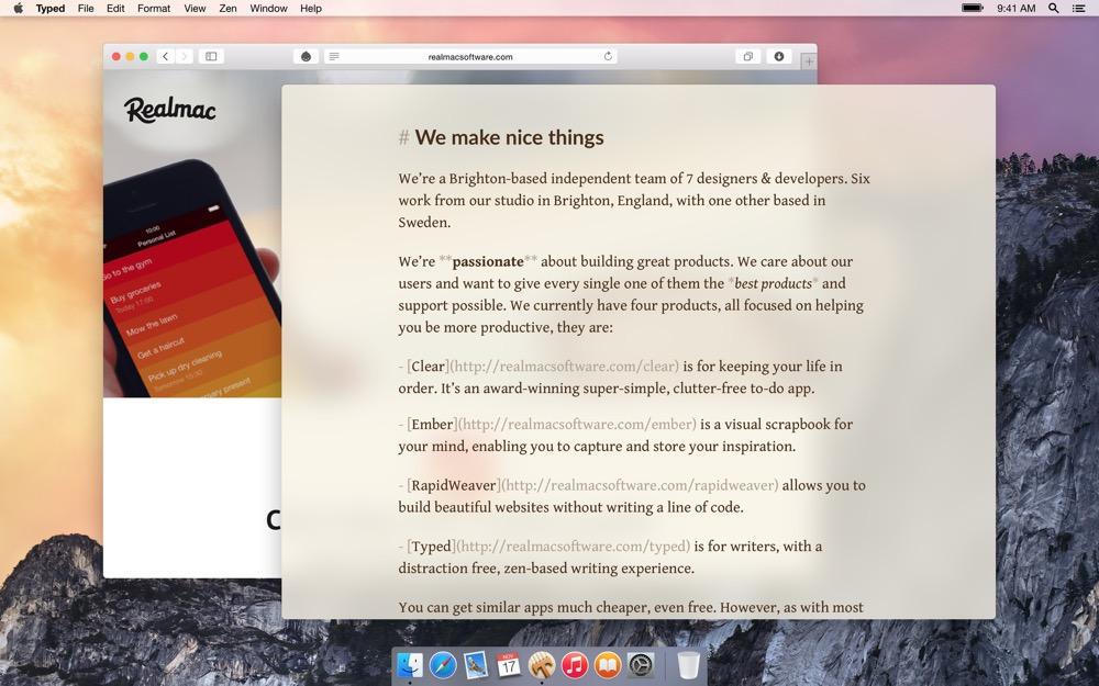 typed mac