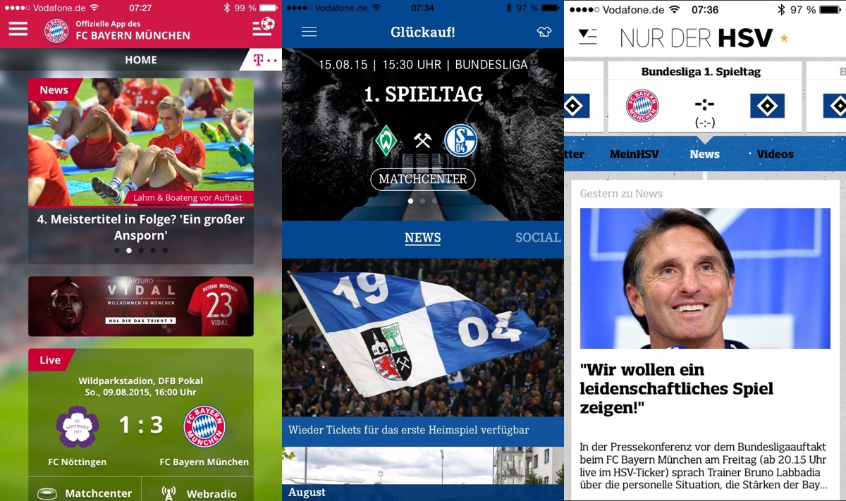 Bundesliga Top 3 Apps