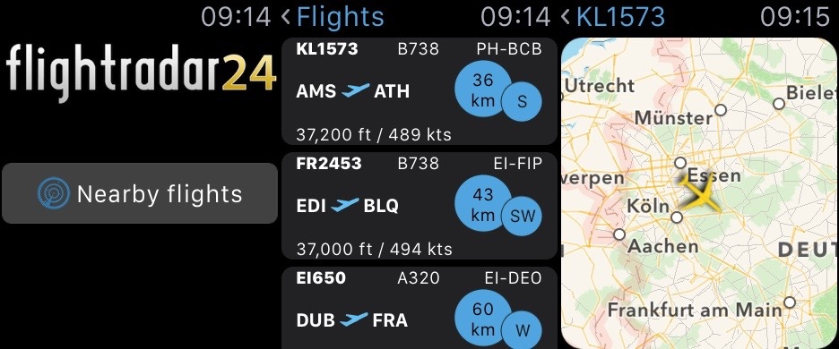Flightradar24 Watch