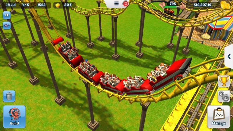 Rollercoaster Tycoon 3 Achterbahn