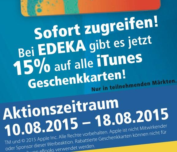 iTunes Edeka
