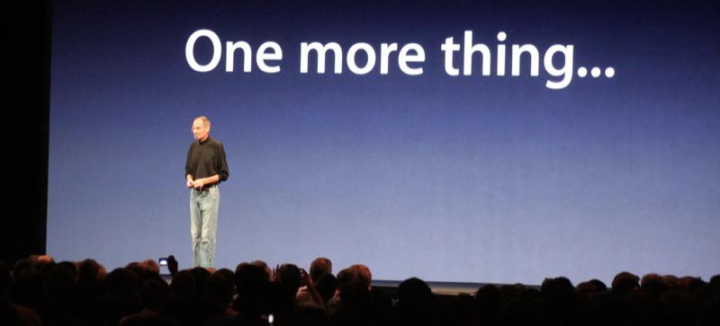 Apple Keynote Steve Jobs