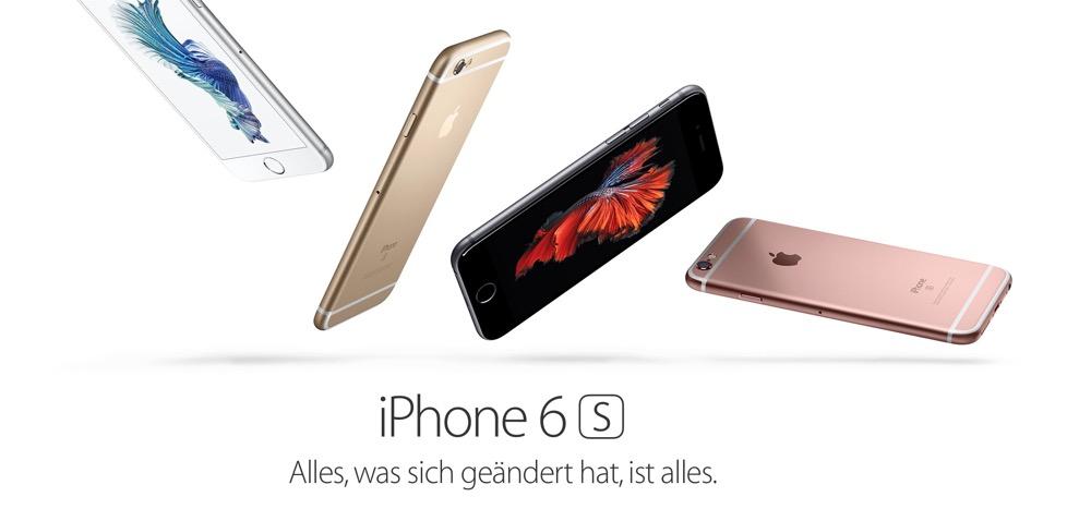 Apple Webseite iPhone 6s