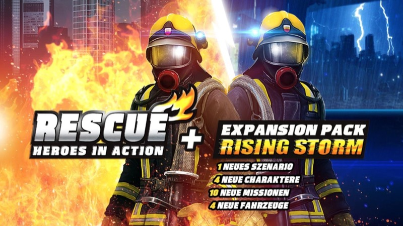 Rescue Heroes in Action Rising Storm AddOn