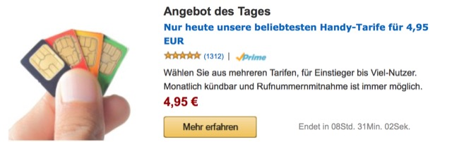Sim Aktion Amazon