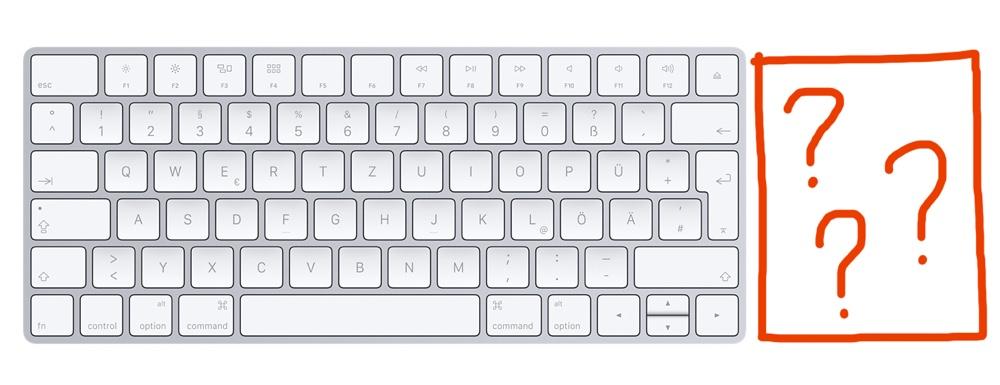 Apple Magic Keyboard Nummerblock