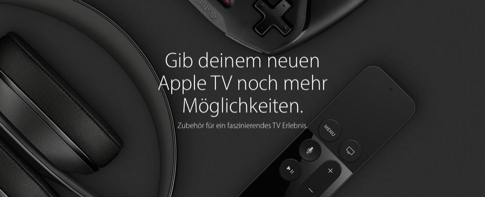 Apple tv 4 zubehoer