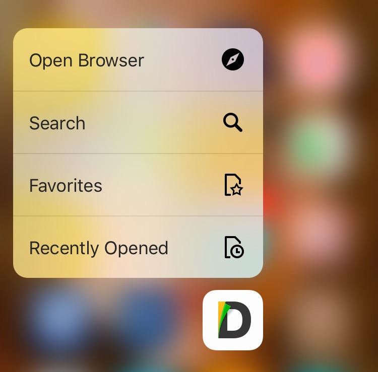 Documents 5 3d touch
