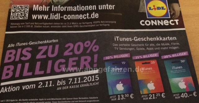 Lidl-iTunes