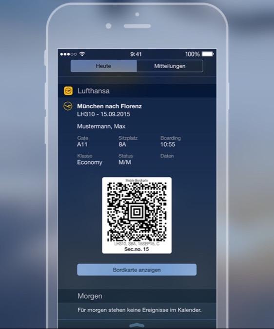 Lufthansa WIdget