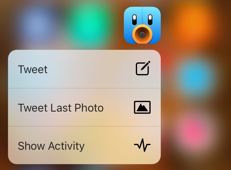 Tweetbot 4 quick actions