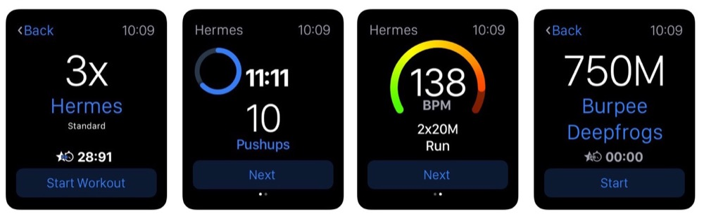 freeletics apple watch