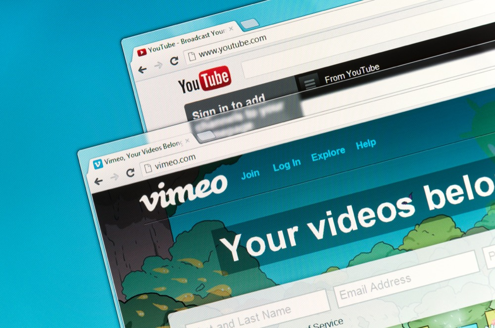 YouTube and Vimeo are community sharing videos.