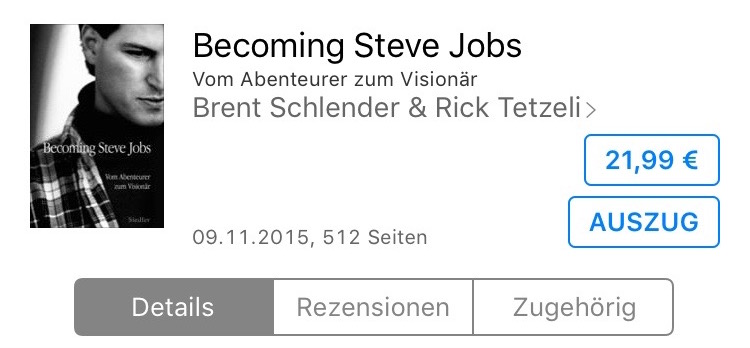 Becoming Steve Jobs iBooks