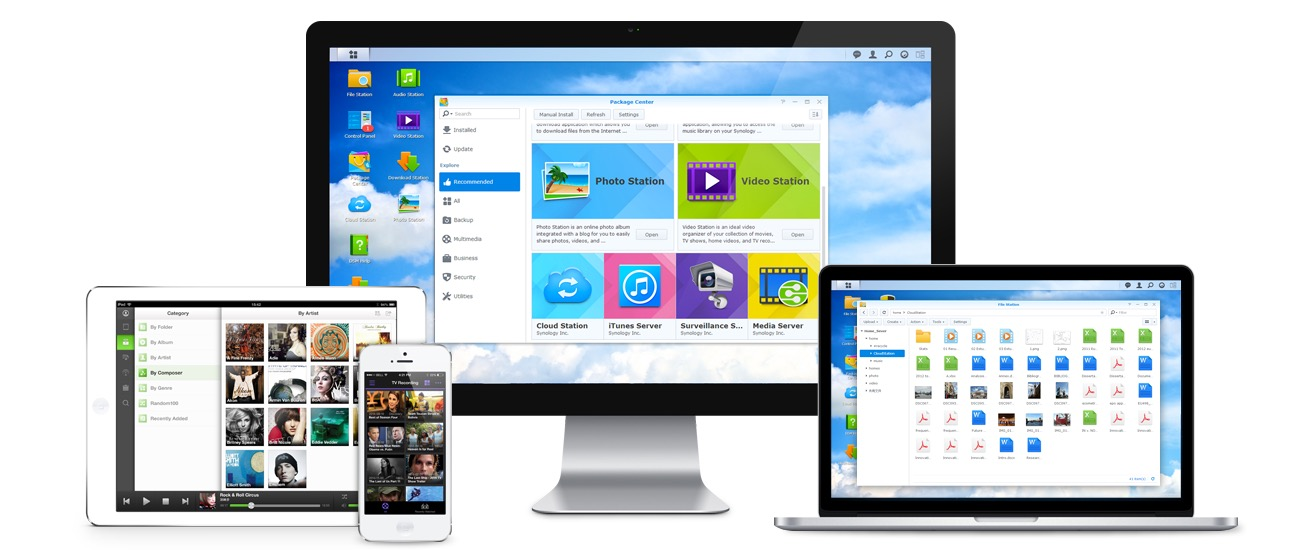 DiskStation Manager Synology