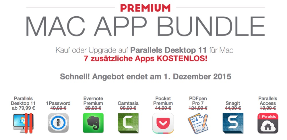 Parallels Desktop Mac Bundle
