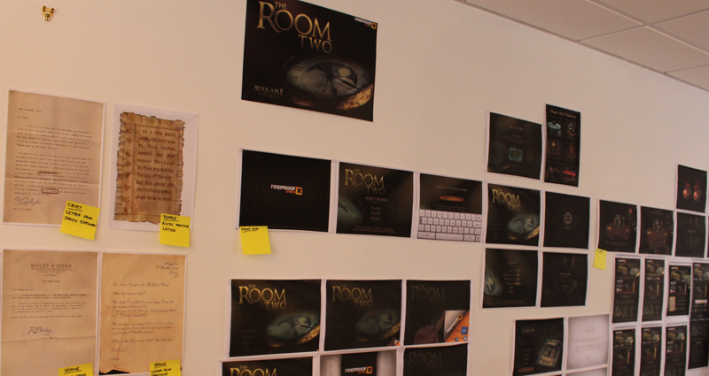 The room Wall