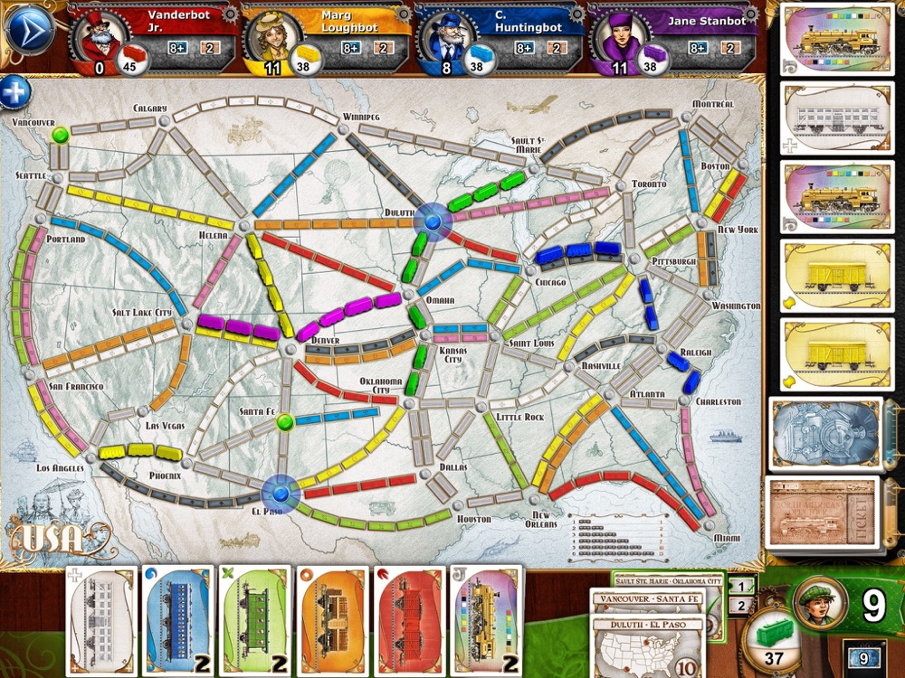 Ticket to Ride Update 1