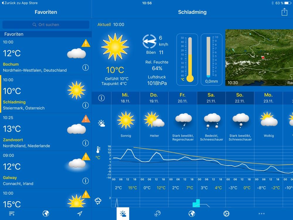WeatherPro iPad 1