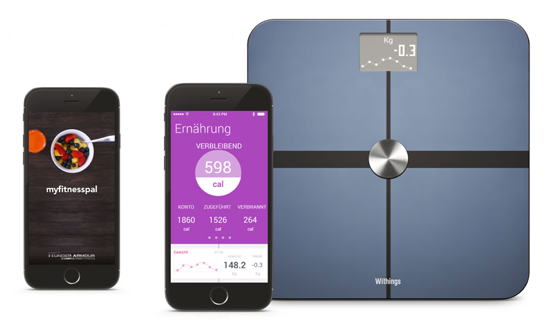 Withings-MyFitnessPal
