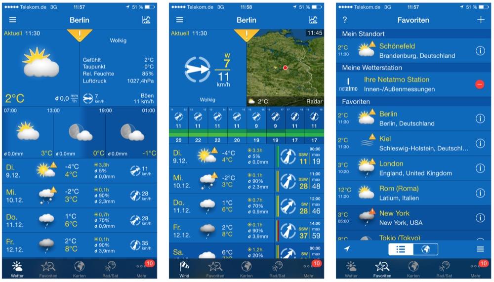 weatherpro iphone