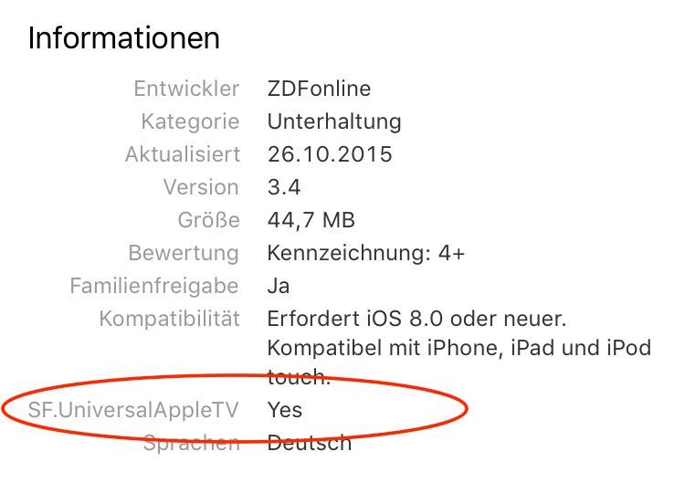 Apple tv apps app store