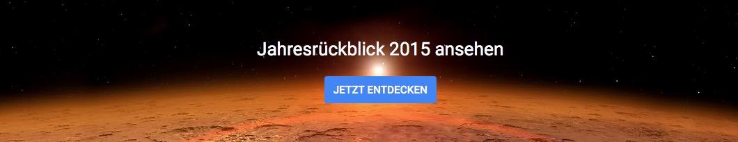 Google Jahresrueckblick