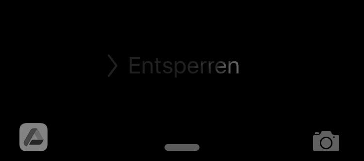 Lockscreen iOS 9 App Vorschlaege