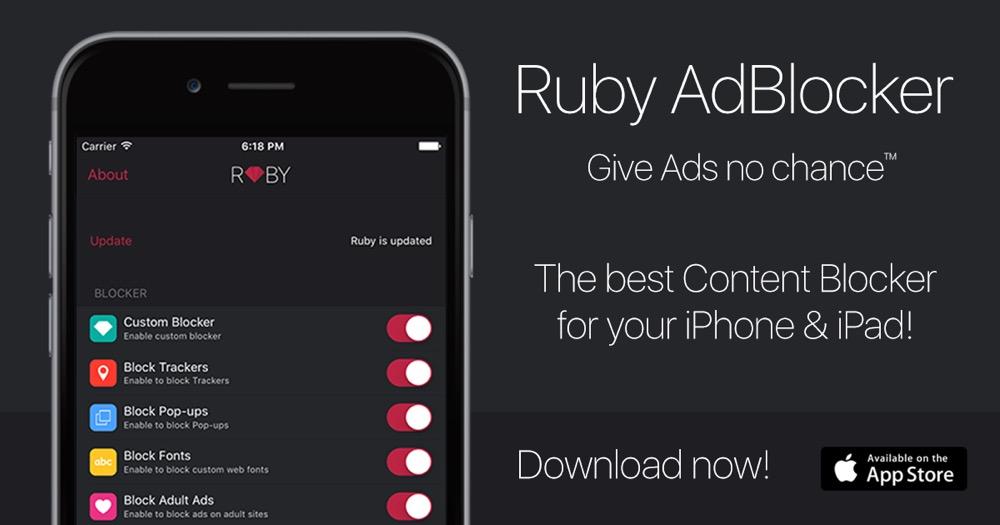 Ruby adblocker