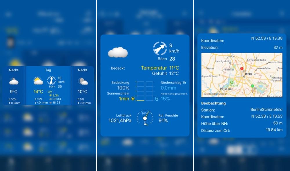 WeatherPro 3d touch
