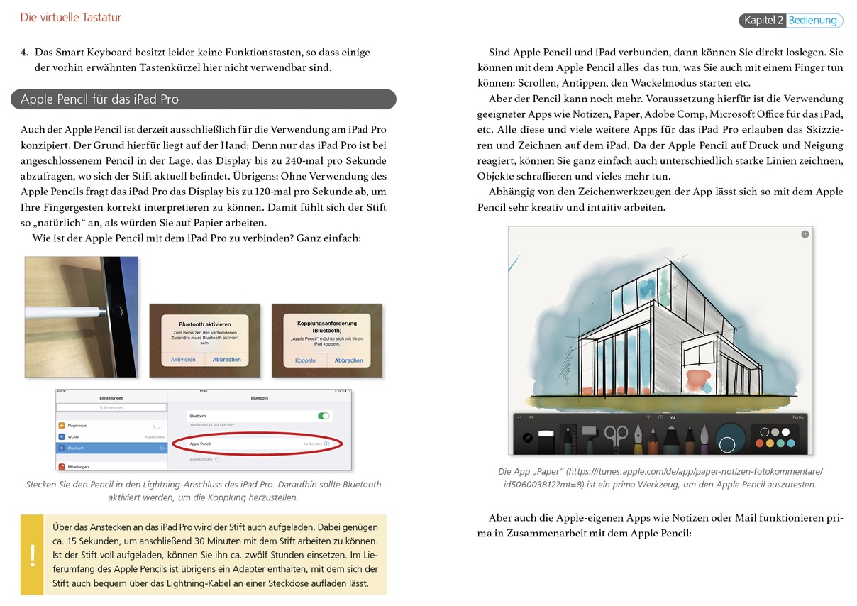 iPad Pro Handbuch