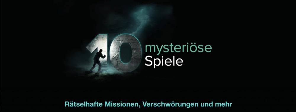 10 mysteriose spiele