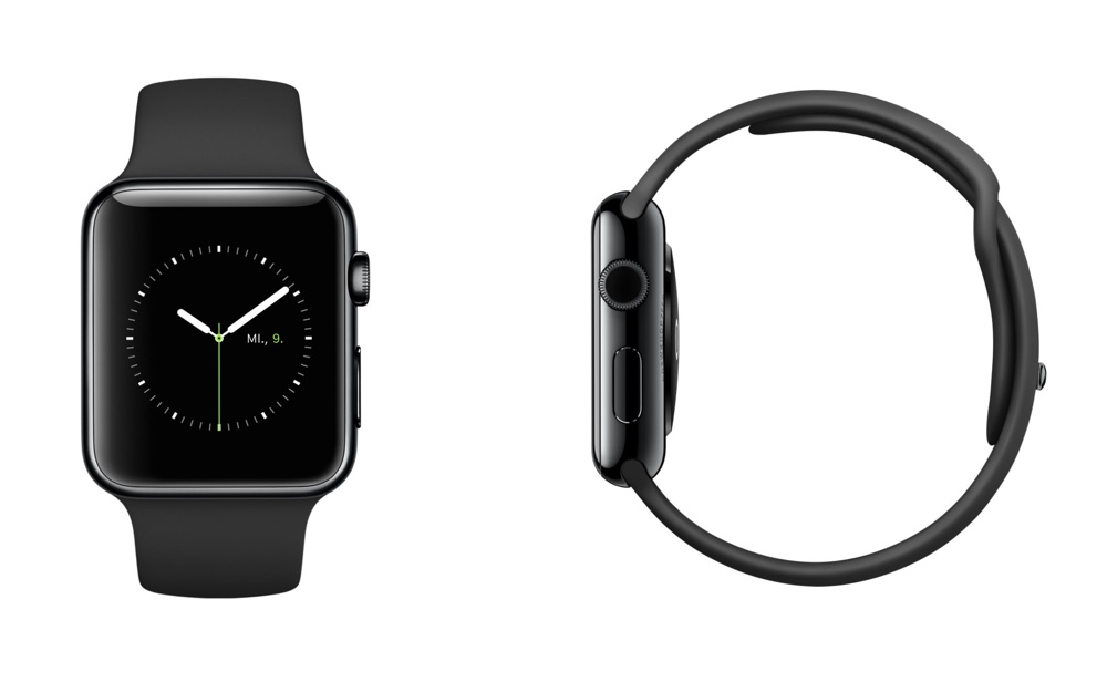 Apple Watch Schwarz