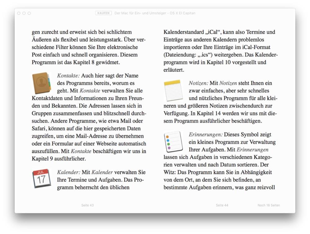 Der Mac fuer Ein- und Umsteiger - OS X El Capitan 2