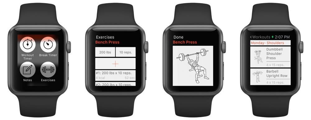Fitness Point Pro apple watch