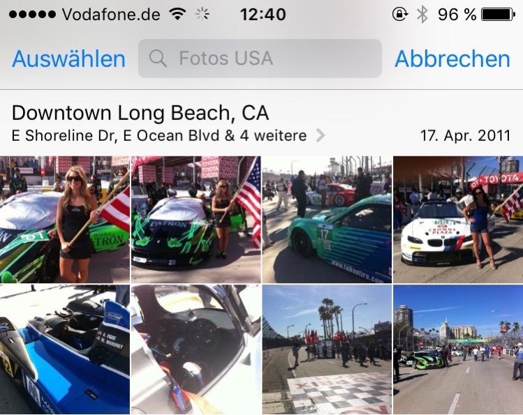 Siri Fotos suchen