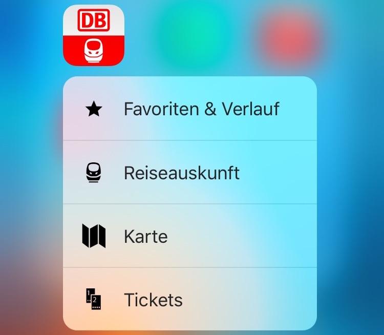 db navigator 3d touch